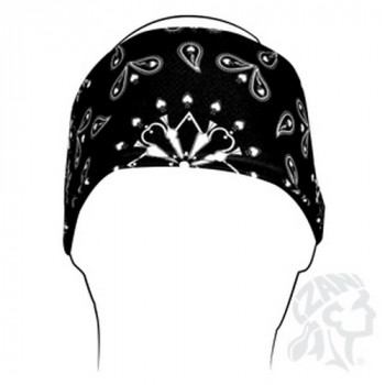 Повязка Zan Headgear Black Paisley