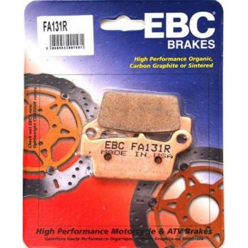 Колодки тормозные EBC FA131R задние Gold