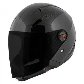Мотошлем Speed and Strength SS2200 Solid Gloss Black 2XL
