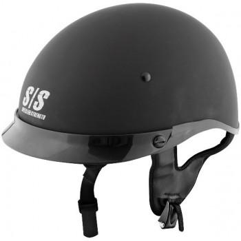 Мотошлем Speed and Strength SS300 Solid Matt Black XS