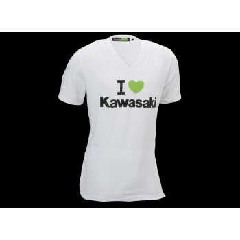 Футболка Kawasaki I Love Kawasaki White M