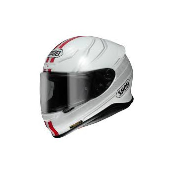 Мотошлем Shoei NXR Lunar TC-1 White-Red L