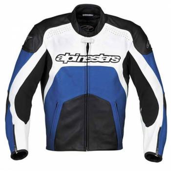 Мотокуртка кожаная Alpinestars GP PLUS Blue 58