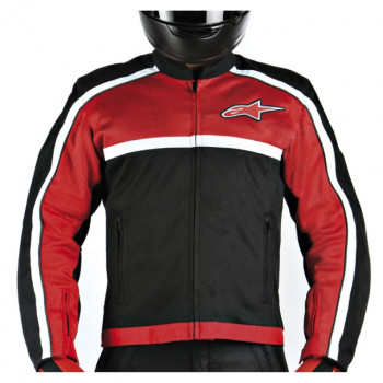 Мотокуртка Alpinestars Breeze Air Flo Red 3XL