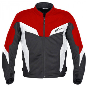 Мотокуртка Alpinestars DUAL AIR Black-Red XL