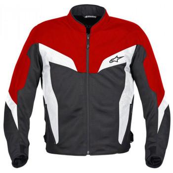 Мотокуртка Alpinestars DUAL AIR Black-Red XL