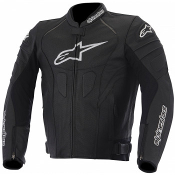 Мотокуртка кожаная Alpinestars GP Plus R Perforated Black 56