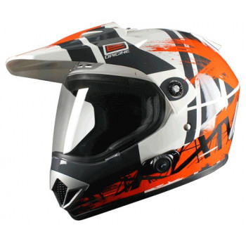 Мотошлем Origine Gladiatore Dakar BT Orange S