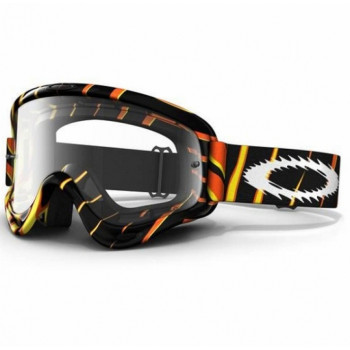 Кроссовая маска Oakley O Frame Mx Razors Edge Orange Yellow