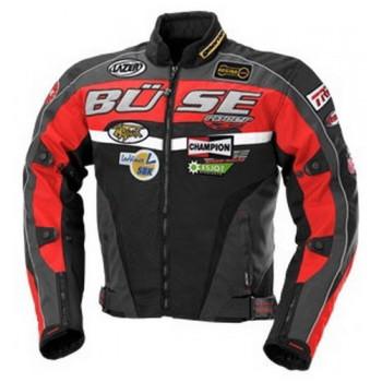Мотокуртка Buse Sponsor Jacke Black-Red XL