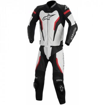 Мотокомбинезон кожаный Alpinestars Gp Pro Black-White-Red 48 (2014)