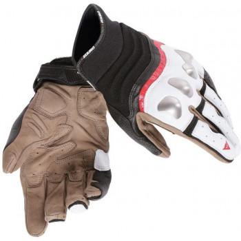 Мотоперчатки Dainese X-Run Black-White-Red XS