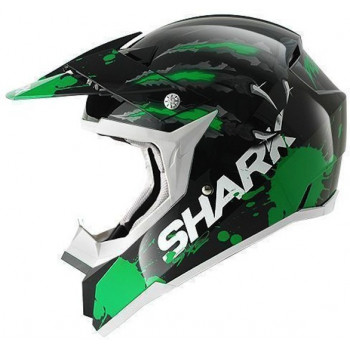 Мотошлем Shark SX2 Predator Green-Black S