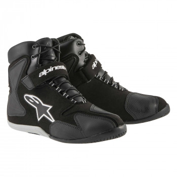 Мотоботы Alpinestars Fastback WP Black-White 44 (11)