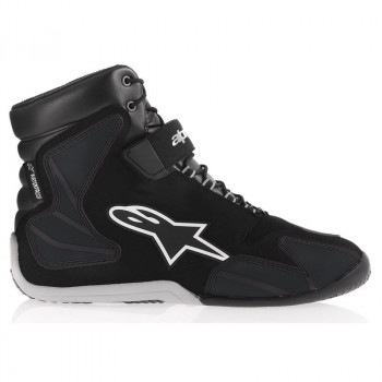 Мотоботы Alpinestars Fastback WP Black-White 41 (8.5)