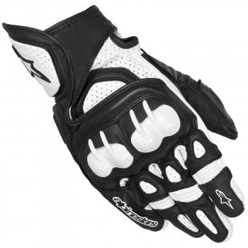 Мотоперчатки Alpinestars GPX кожа-текстиль Black-White M