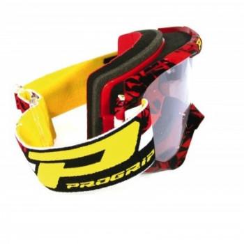 Кроссовая маска Pro Grip PG3450/16 Red-Black