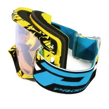 Кроссовая маска Pro Grip PG3450/16 Yellow-Black
