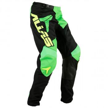 Кроссовые детские штаны Alias A2 Bars Yellow-Neon Green 26