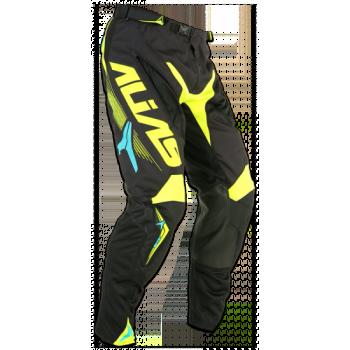 Кроссовые штаны Alias A1 Black-Neon Yellow 34