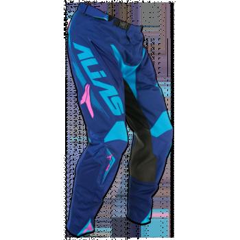 Кроссовые штаны Alias A1 Navy-Cyan 32