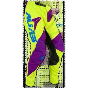 Кроссовые штаны Alias A2 Bars Neon Yellow-Purple 34
