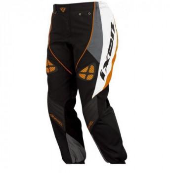 фото 1 Кроссовая одежда Кроссовые штаны Ixon OPTIC Black-White-Grey-Orange XS