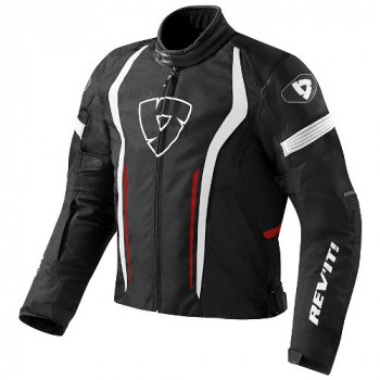 Мотокуртка Revit Raceway Black-Red XL