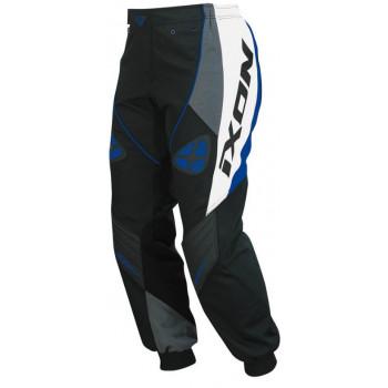 фото 1 Кроссовая одежда Кроссовые штаны Ixon OPTIC Black-White-Grey-Blue XS