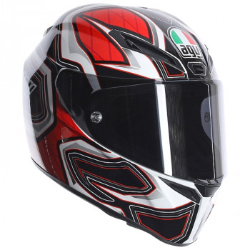 Мотошлем AGV GT-Veloce Multi Gravity Black-White-Red XL
