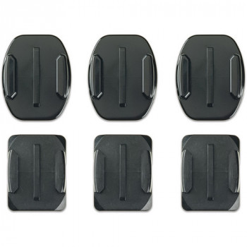 Комплект платформ GoPro Flat and Curved Adhesive Mounts Black