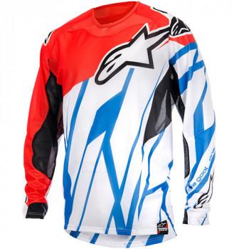 Джерси Alpinestars Techstar Vent Red-White-Blue L