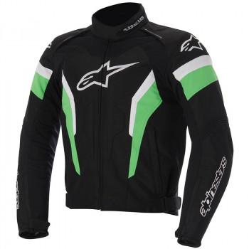 Мотокуртка Alpinestars T-GP Pro Black-Green-White XL