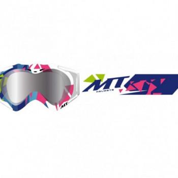 Кроссовая маска MT Gafa MX-Pro III Crazy