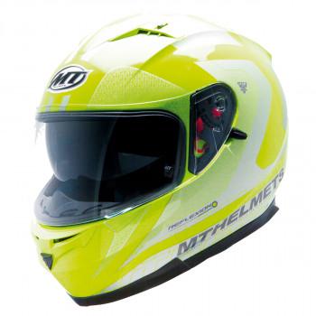 Мотошлем MT Blade SV Reflexion Yellow Fluo M