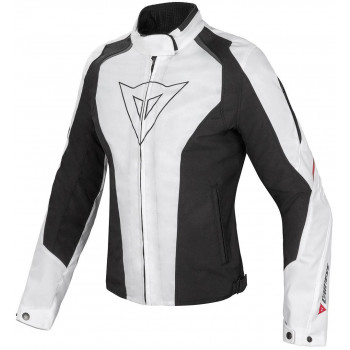 Мотокуртка женская Dainese Laguna Seca D-Dry White-Black-Red 40