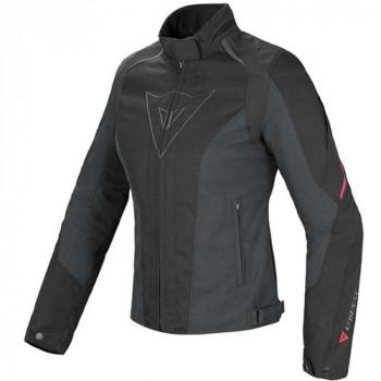 Мотокуртка женская Dainese Laguna Seca D-Dry Black-Pink 40