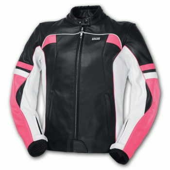 Мотокуртка женская IXS Lara Black-White-Pink 38