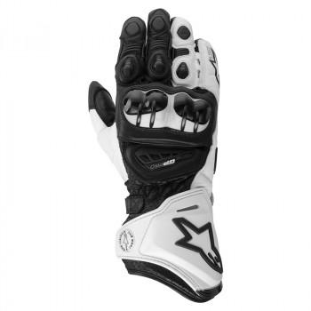 Мотоперчатки кожаные Alpinestars GP Pro Black-White S