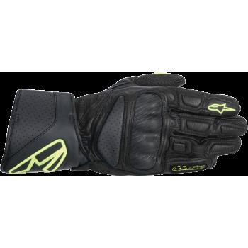 Мотоперчатки кожаные Alpinestars SP-8 Black-Yellow M
