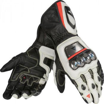 Мотоперчатки кожаные Dainese Full Metal D1 Black-White-Red XL