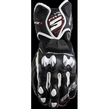Мотоперчатки кожаные Five RFX-1 Black-White S