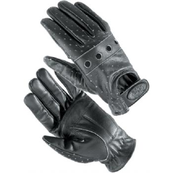 Мотоперчатки женские River Road Swindler Disstress Leather Black L