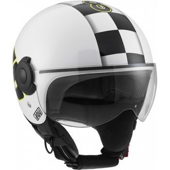 Мотошлем AGV Bali Copter Vale 46 White S