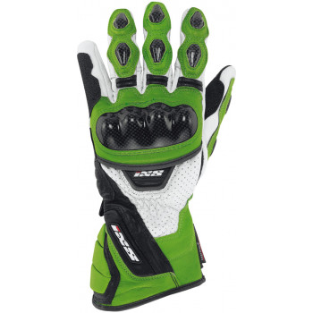 Мотоперчатки IXS Rocket Green-White-Black S