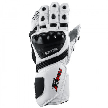 Мотоперчатки IXS RX-7 White-Black M