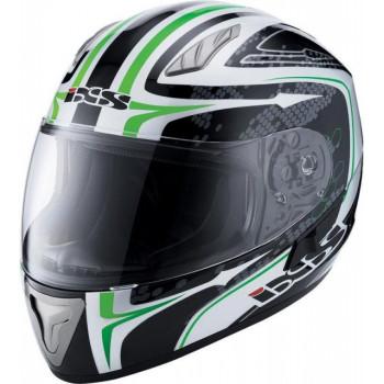 Мотошлем IXS HX 1000 Ride Black-White-Green S