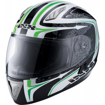 Мотошлем IXS HX 1000 Ride Black-White-Green XL