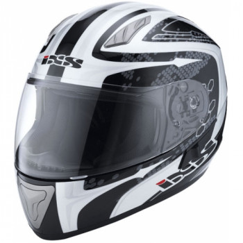 Мотошлем IXS HX 1000 Ride Black-White-Grey XS