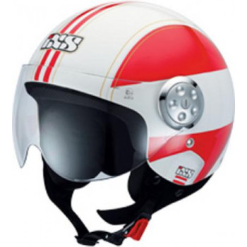 Мотошлем IXS HX 134 Europa White-Red S